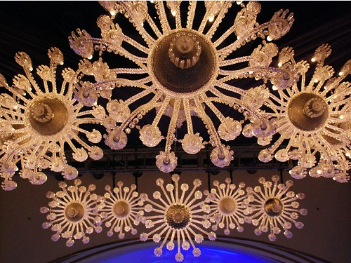 Baccarat Chandeliers, upward 2