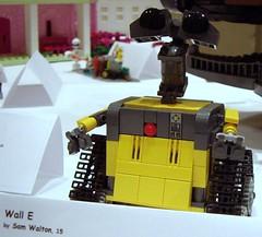 LEGO Wall-E (Disney Dan) Tags: summer usa brick me america corner us unitedstates lego pentax august fair pixar convention optio sheraton 2008 tysons tysonscorner walle t10 disneypixar brickfair pleasevisitwwwbracelandstk