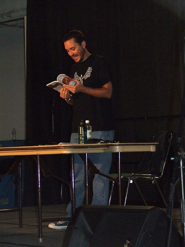 Wil Wheaton reading