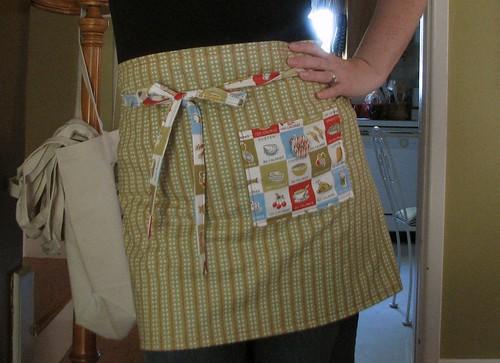 New apron