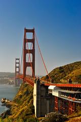 Golden Gate Bridge / southwards