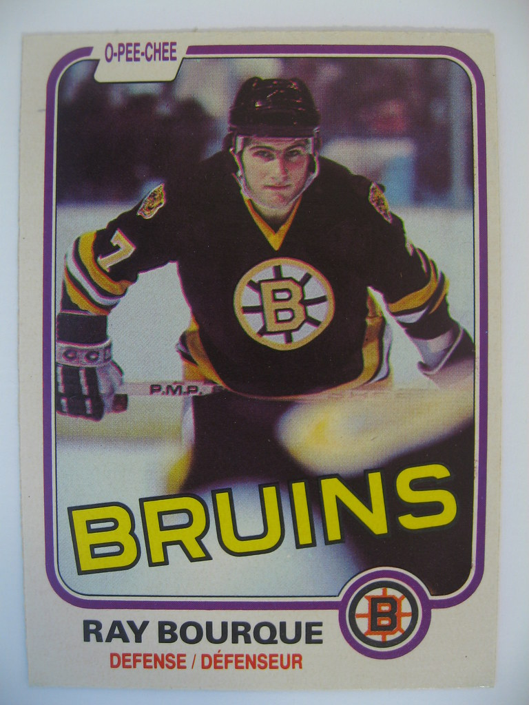 Ray Bourque 80-81 Front