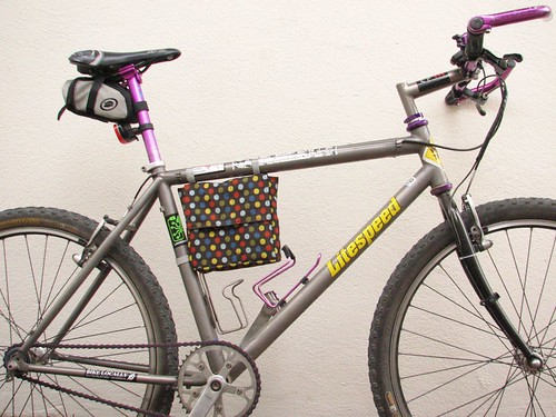 Bicycle Frame Lunch Bag | Homemade Christmas Gifts Men Will Actually Love