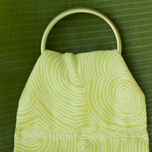 Organic Ring Sling Garden twirl