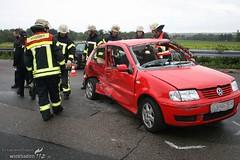 Unfall A66 Frauenstein 01.10.08