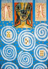 paper  DSC00072 (totem3xperu) Tags: africa peru cuzco icons drum spirit surrealism indian magic dream jazz blues masks mito occult myth mystic precolumbian sueño nazca peruvian tambor misterio sudamerica ensueño mascaras totem3x metamorfosis castillabambaren totem3xperu