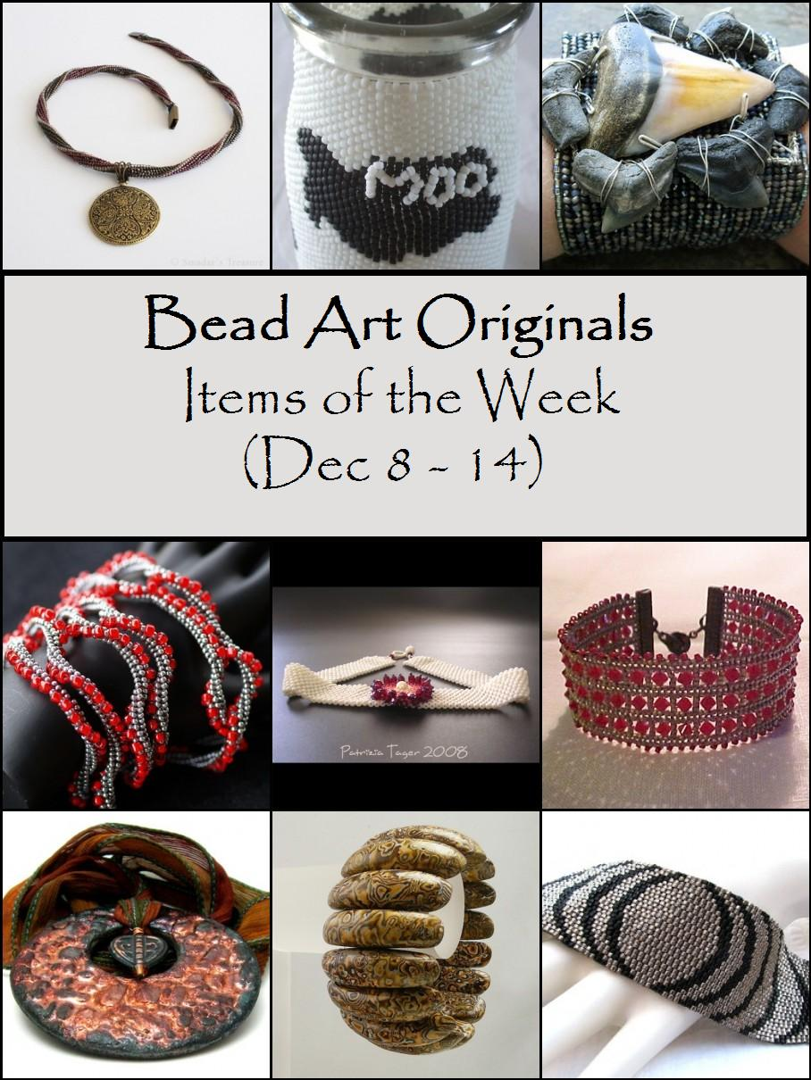 Bead Art Originals Items of the Week (12/8-14)