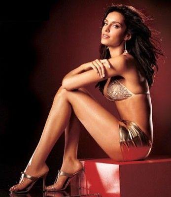 Canadian model and actress Saira Mohan