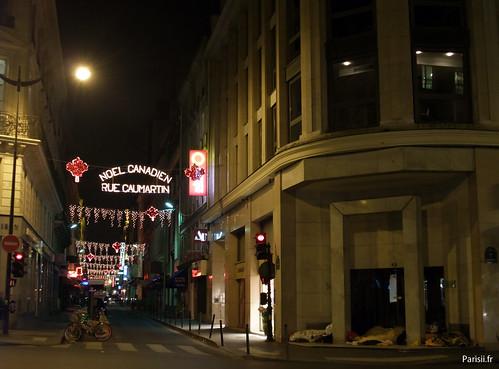 Noël Canadien, rue Caumartin