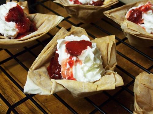 phyllo dough pastry dessert