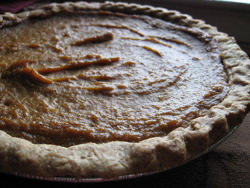 Coconut-Pumpkin Pie