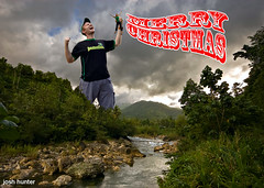 The Sophomore Release (joshunter) Tags: christmas rio photoshop giant grande king kong godzilla card valley jamaica merry 2008 08