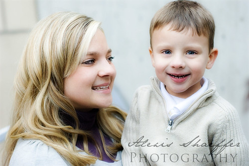 mom and son watermark
