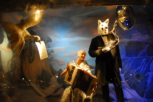 Window Display at Bergdorf Goodman Department Store
