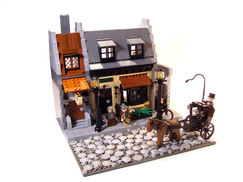 The Adventures Of Sherblock Holmes The Brothers Brick
