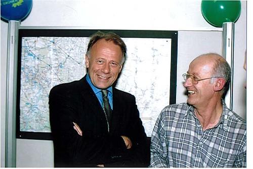 Umschaltfest Jürgen Trittin und Erhard Renz