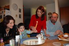 Hanuka 2008 (Alive and Kikin) Tags: canada alex candles victoria liam sigal hanuks