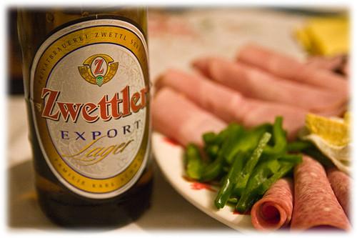 beer + snack