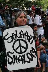 We need peace in Gaza - Salaam Shalom by Takver