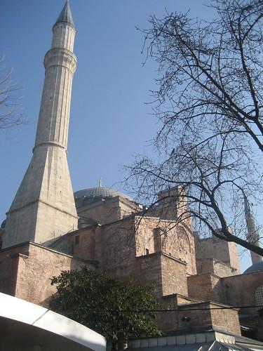 Exterior of Aya Sofya