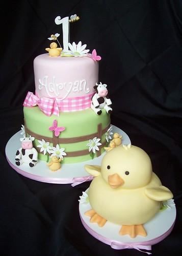 Adryan's Farm cake