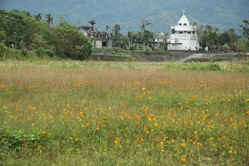 台九線農村教堂景色