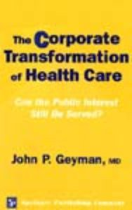Dr Geymans Corporate Transformation of Medicine derived its title from a National Conference theme day