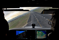 A perfect landing attitude... (PegaPPP) Tags: flying digitale flight cockpit landing volo attitude final approach finale cessna aviazione digest g1000 pega garmin crosswind glasscockpit cleared volare generalaviation pannello strumenti autorizzato atterraggio assetto avvicinamento platinumphoto overtheexcellence