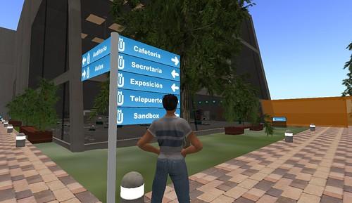 Udima unibertsitatea Second Life gunean (48) by palazio