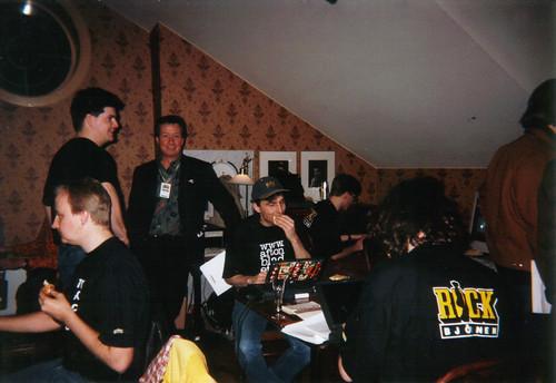 Rockbjörnen '96, aftonbladet.se jobbar i Ernst Rolf-logen