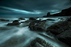 Diagonals Converge (dan barron photography - landscape work) Tags: sea seascape lines long exposure south tyne stack wear northumberland leading shields marsden