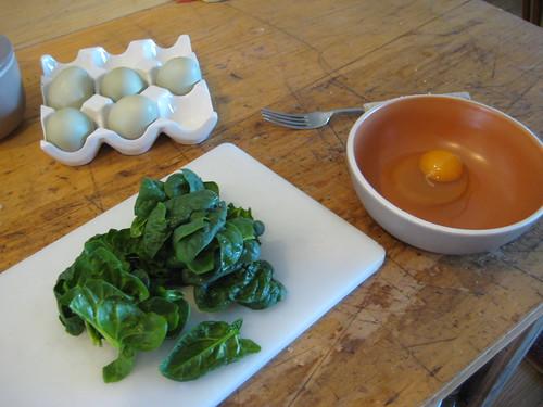 omelet making
