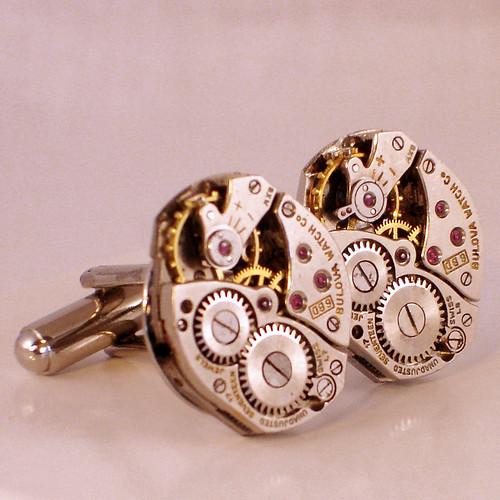 Bulova Watch Cufflinks