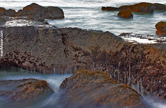 the power of nature (Maaar) Tags: longexposure bali landscape stones slowshutter mengeningbeach