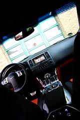 Infiniti FX45 Alpine (Sas & Rikske) Tags: riksketervuren canon eos 450d 1755 f28 fx45 fx 45 infinity infiniti close up alpine benelux patrick schockaert le parrain des parrains crossover suv nissan midsize luxury vehicle wagen luxe l v8 320 hp autosalon 2009 brussel