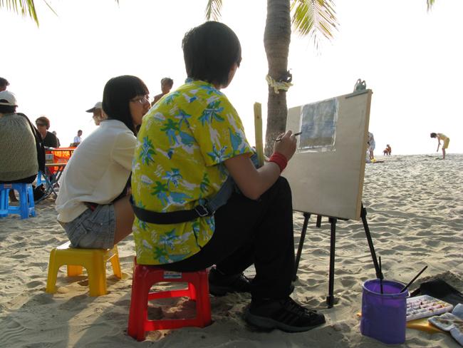 爷爷和柴叔在沙滩奔跑!!?好开心!南下三亚写真下篇! - yukikaze-yamap - 腐爛之地—