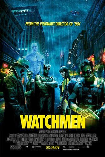 Watchmen Final Poster by Winston's Pics.
