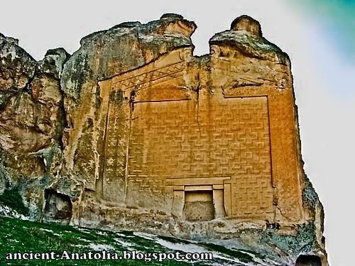 Rock Carvings at Midas City