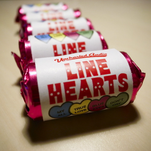 Line Hearts