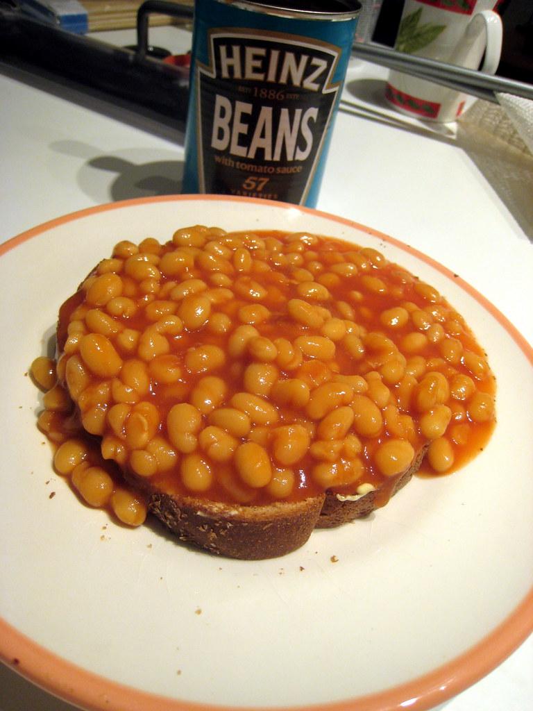 Beans+On+Toast Plate of Beans on Toast