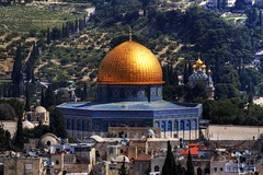 "Jerusalem ""Dome of the Rock"" (Florian Seiffert (F*)) Tags: israel jerusalem gimp domeoftherock 2009 hdr alquds felsendom jeruschalajim placeoflastsupper kirchevonmariamagdalena felsenmoria churchofmarymagdalena"