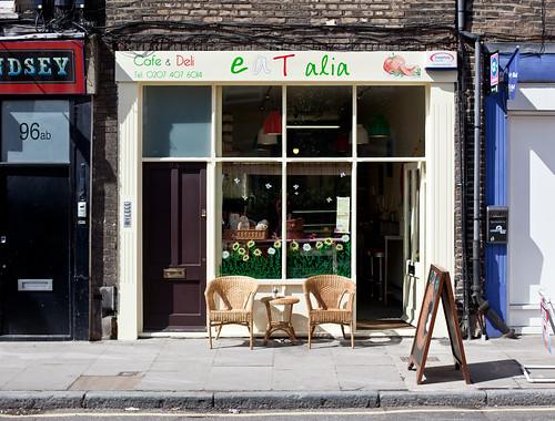New shop on Bermondsey Street: eaTalia