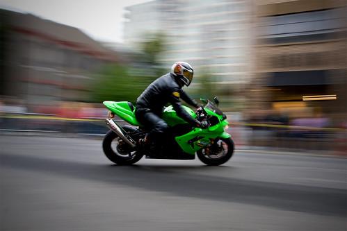 Ninja-in-Downtown-Portland