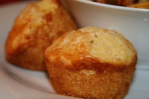 Pepper Jack Corn Muffins