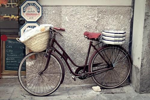 La bici del Horno de Sto. Cristo