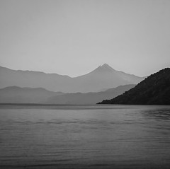 Silent (Rik Hermans) Tags: sea mountains turkey islands soft sailing softness silence sail waters layers mountainside bergen icarus turkije rik silencio dalyan fethiye hermans mugla caunos blue gcek voyage gek twelveislands shhhht rikhermans thegulfofgcek hermansrik
