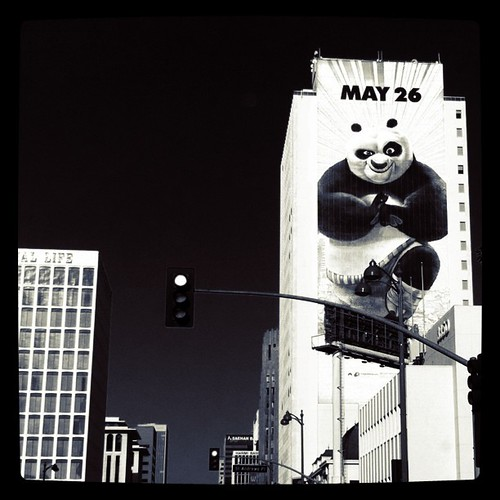 kung fu panda 2 ad advertisement sign billboard drollgirl