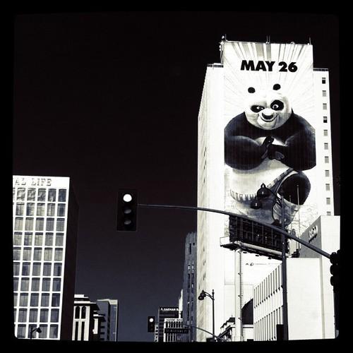 kung fu panda 2 ad advertisement sign billboard drollgirl