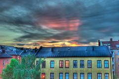 Sunset in Oslo (Nik Fahmi) Tags: leica sunset oslo norway 35mm f2 asph hdr m9 summicronm 7exp nikfahmi