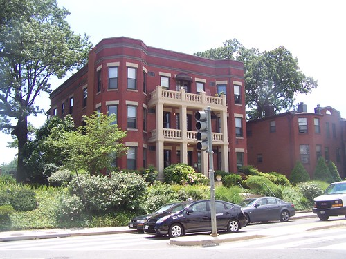 Apartment building on Cedar Street at Blair Road, Takoma, Washington DC